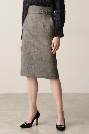 ヘリンボーンタイトスカート