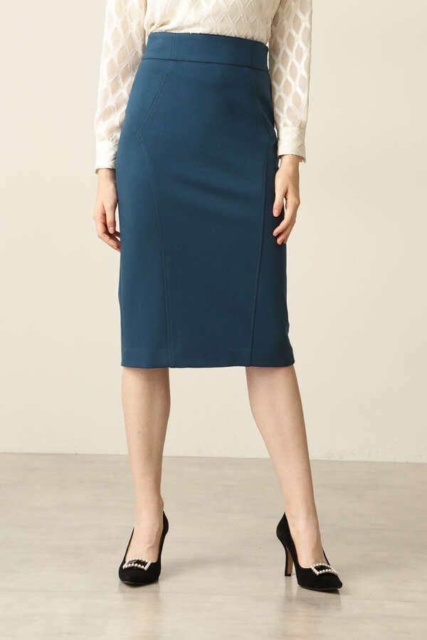【先行予約 11月下旬-12月上旬入荷予定】ウォームポンチスティッチトスカート