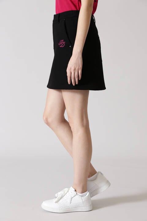 ロゴ刺繍ソフトダンボールスカート