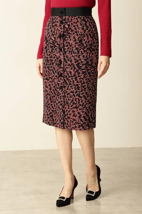 【先行予約 9月中旬-下旬入荷予定】レオパードプリントスカート