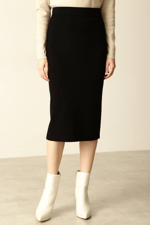 総針ニットスカート