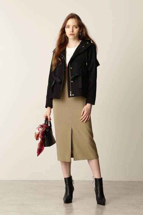 Uネックジャンパースカート