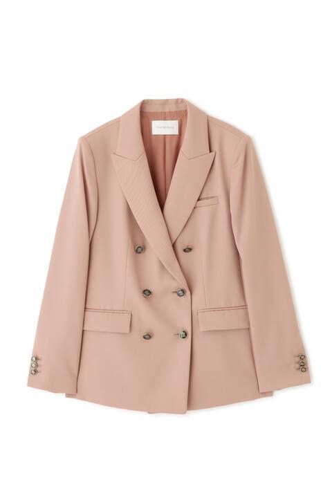 ピークドカラーダブルブレストジャケット