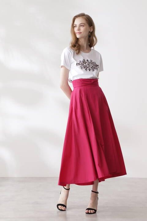 【先行予約 7月中旬-下旬入荷予定】エンブロイダリーロゴTシャツ