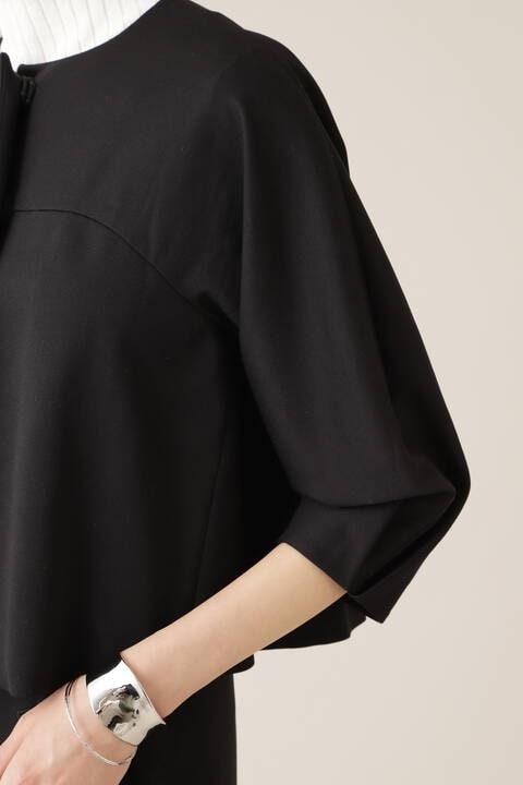 ロマネポンチノーカラーコクーンジャケット