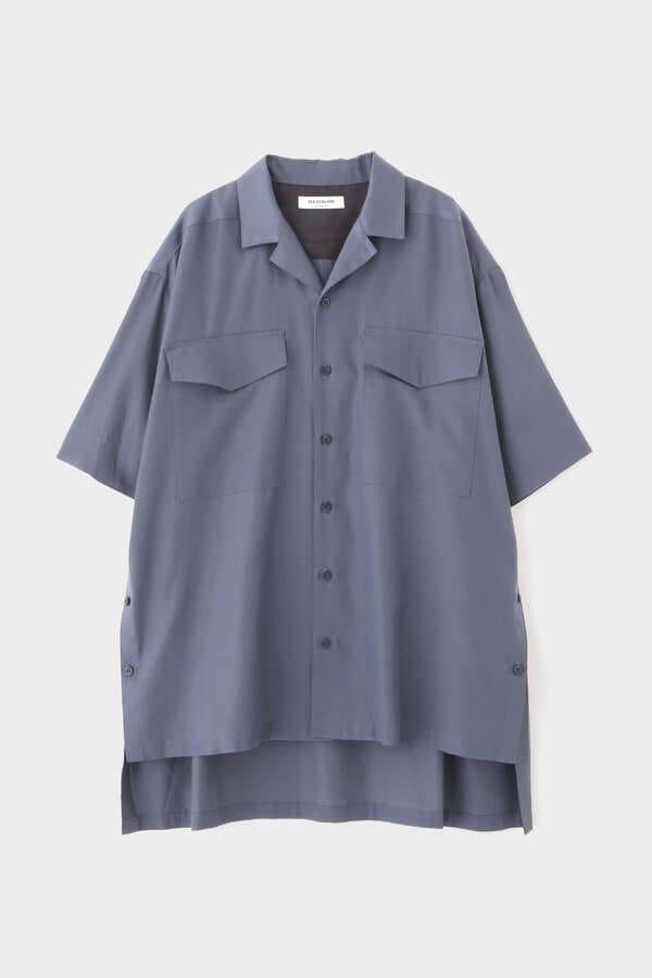 FOR GENDER FREE キュプラツイルシャツ