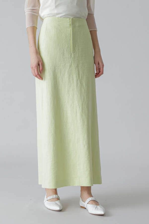 麻ツイルスカート