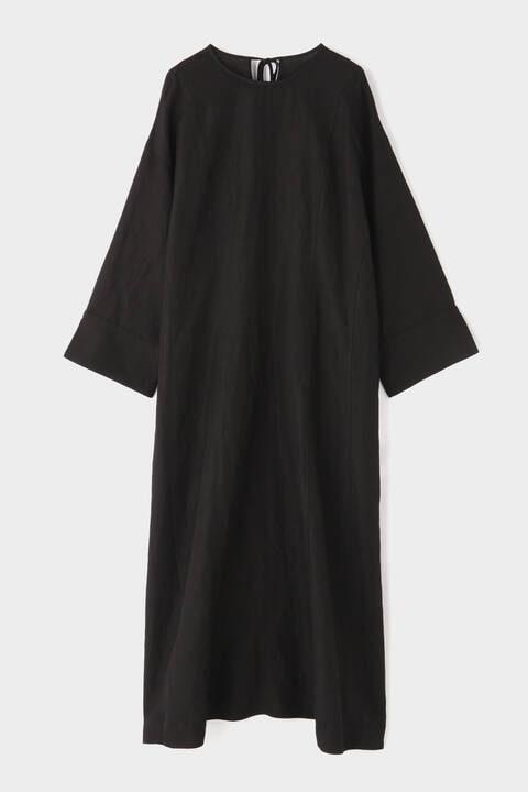 麻レーヨンワンピース