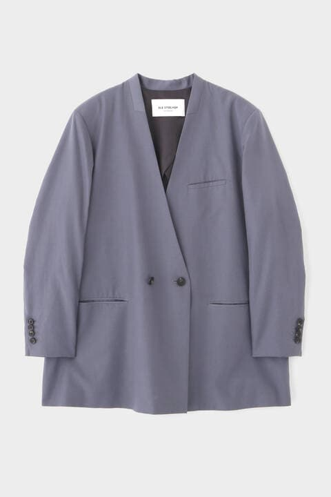 FOR GENDER FREE キュプラツイルジャケット