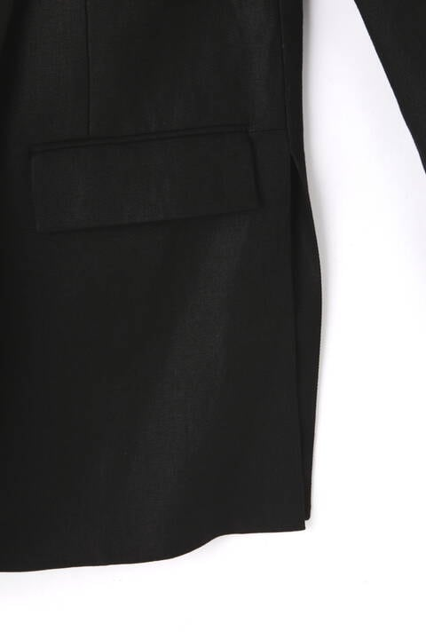 麻ツイルジャケット
