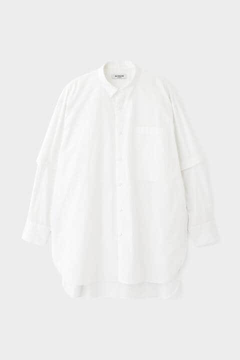 FOR GENDER FREEE ファインストライプシャツ