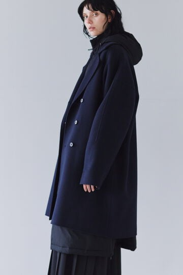 FOR GENDER FREE ウールカシミヤPコート