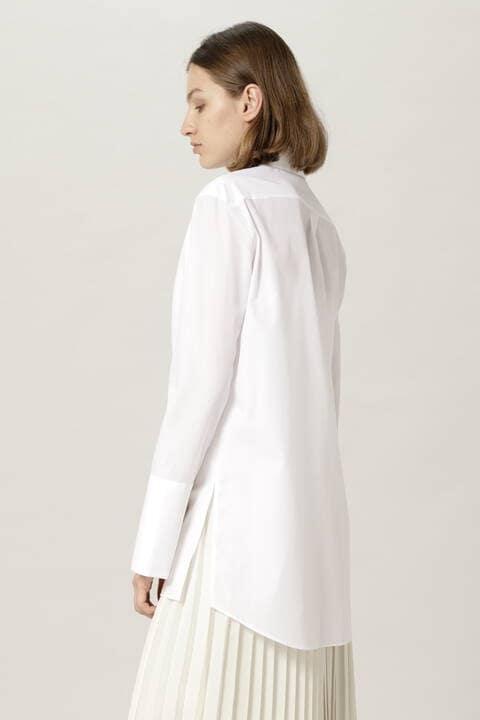 ロングデザインシャツ