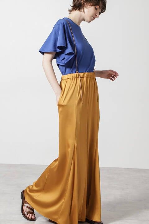 ハンマーサテンスカート