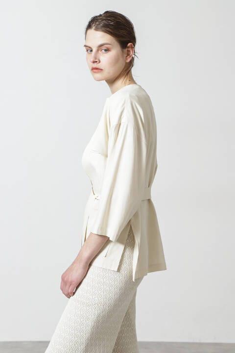 ダブルボイルコットンシャツジャケット