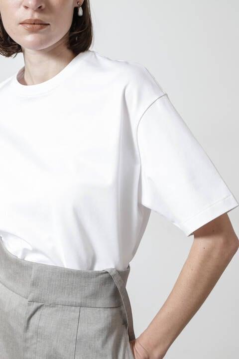 天竺ラウンドネックビッグTシャツ