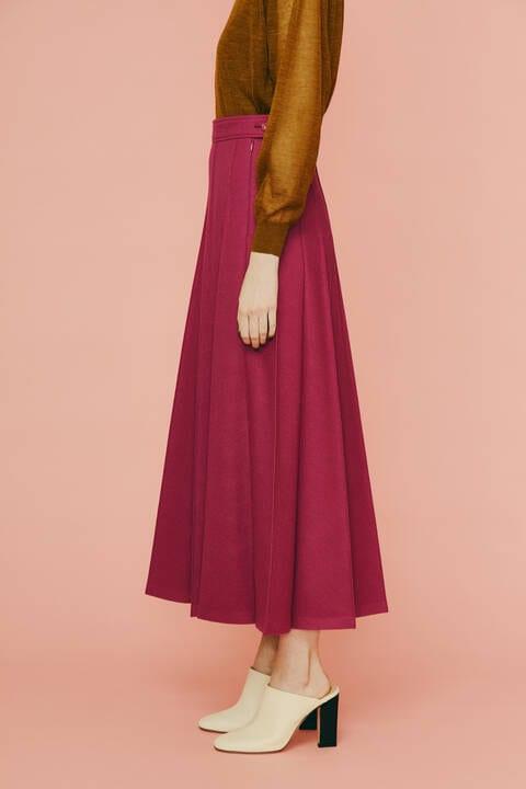 【先行予約 11月上旬-中旬入荷予定】ハードメルトンスムーススカート