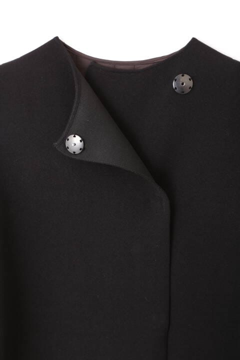 キルティングコンビニットコート