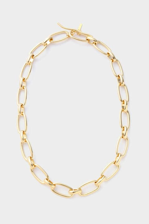 Stem Chain Link Necklace