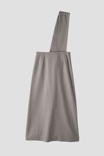 ワンショルダーロングスカート