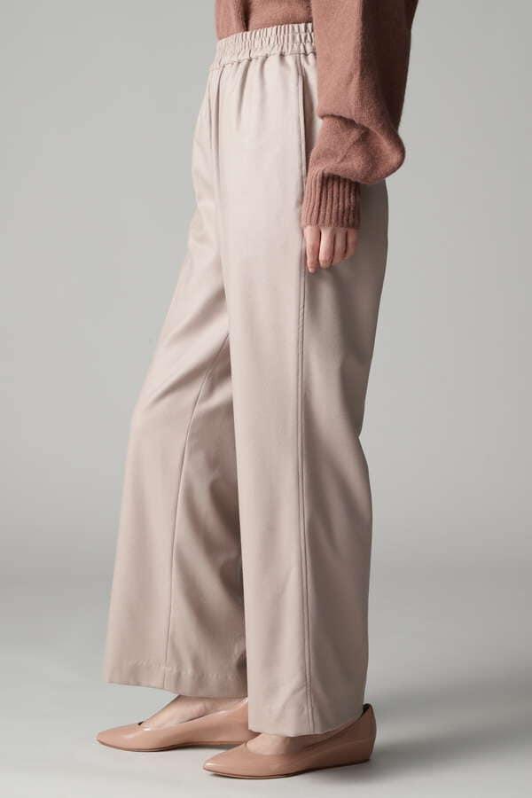 ウールイージーパンツ