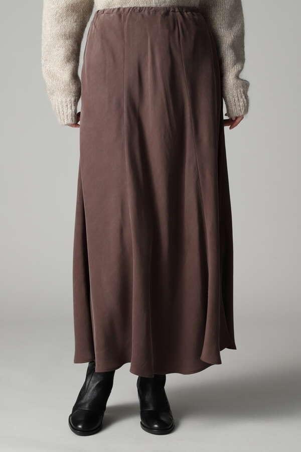 キュプラバイヤスロングスカート