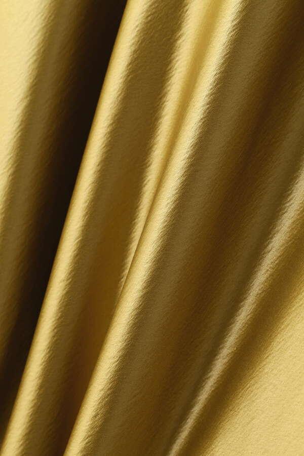 esta'nder / Leather Like Satin Skirt