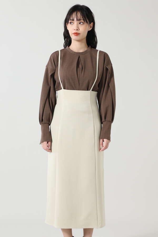 サスペンダースカート