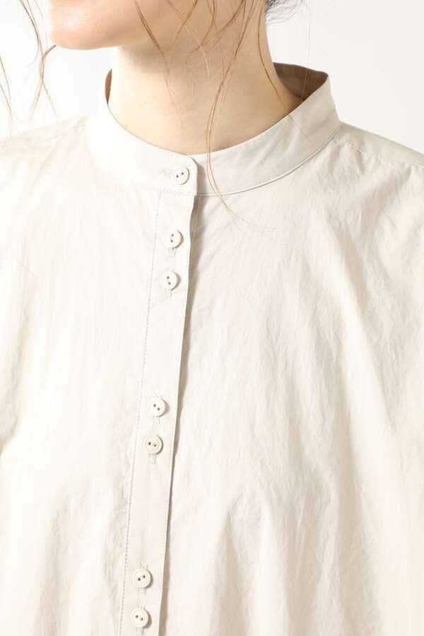 リラックスフォルムギャザーシャツ