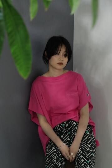 <ROSE BUD別注>Championチャンピオンカットソー
