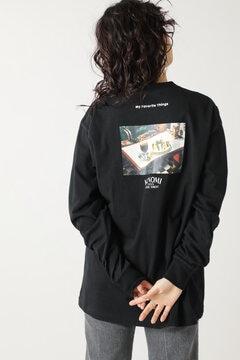 【先行予約 3月下旬-4月上旬入荷予定】バックプリントロングTシャツ