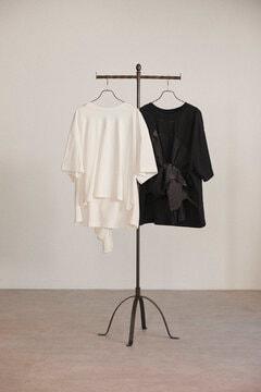 【先行予約 5月下旬-6月上旬入荷予定】バックリボンビッグTシャツ