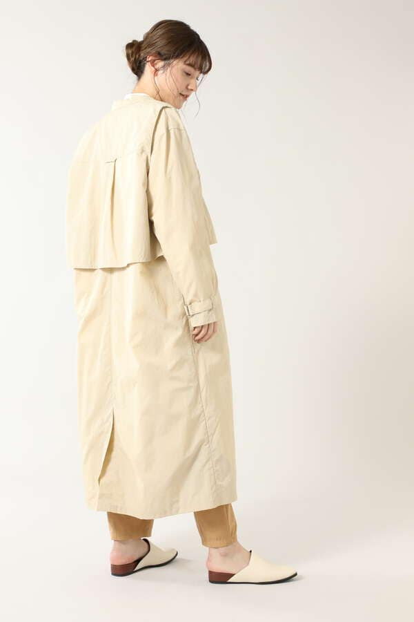 3wayレイヤードスプリングコート