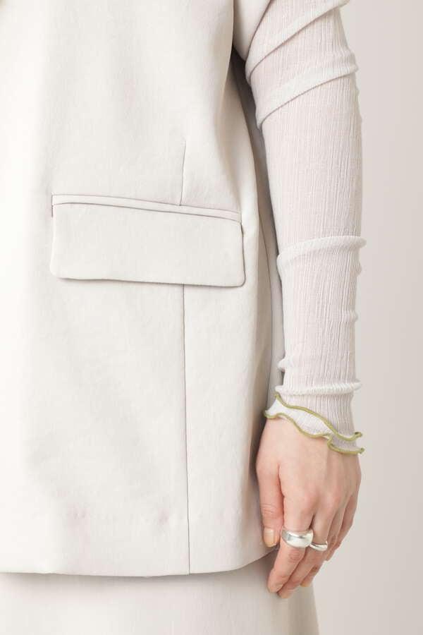 ハーフスリーブジャケット