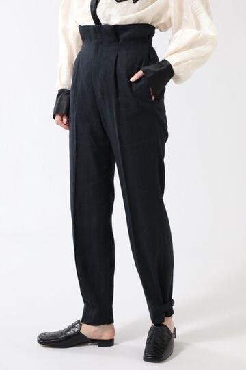 裾タックパンツ