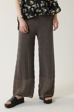 レース編みパンツ