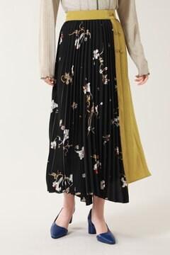 オリエンタルプリントスカート