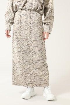 カモフラージュストレートスカート
