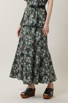 【先行予約 5月上旬-5月中旬入荷予定】フラワープリントスカート