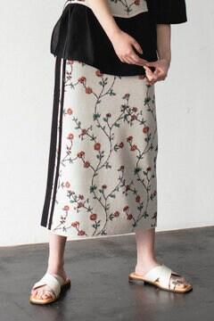 【先行予約 4月中旬-4月下旬入荷予定】ニットスカート
