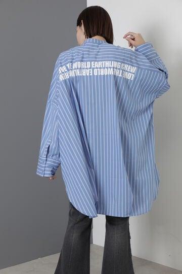【先行予約 7月下旬-8月上旬入荷予定】バンドカラービッグシェイプドシャツ