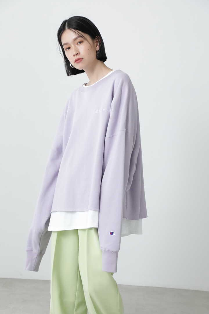 <ROSE BUD別注>クロップドワイドスウェット