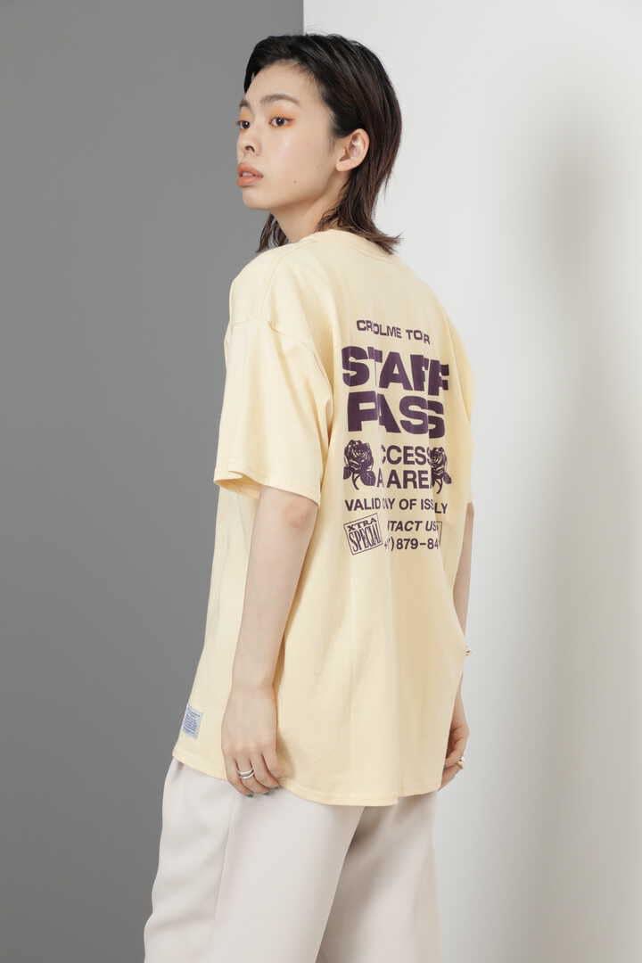 <RUSSELL ATHLETIC×CREOLME>スタッフパスTシャツ