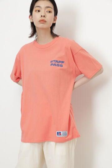 【先行予約 7月中旬-7月下旬入荷予定】<RUSSELL ATHLETIC×CREOLME>スタッフパスTシャツ