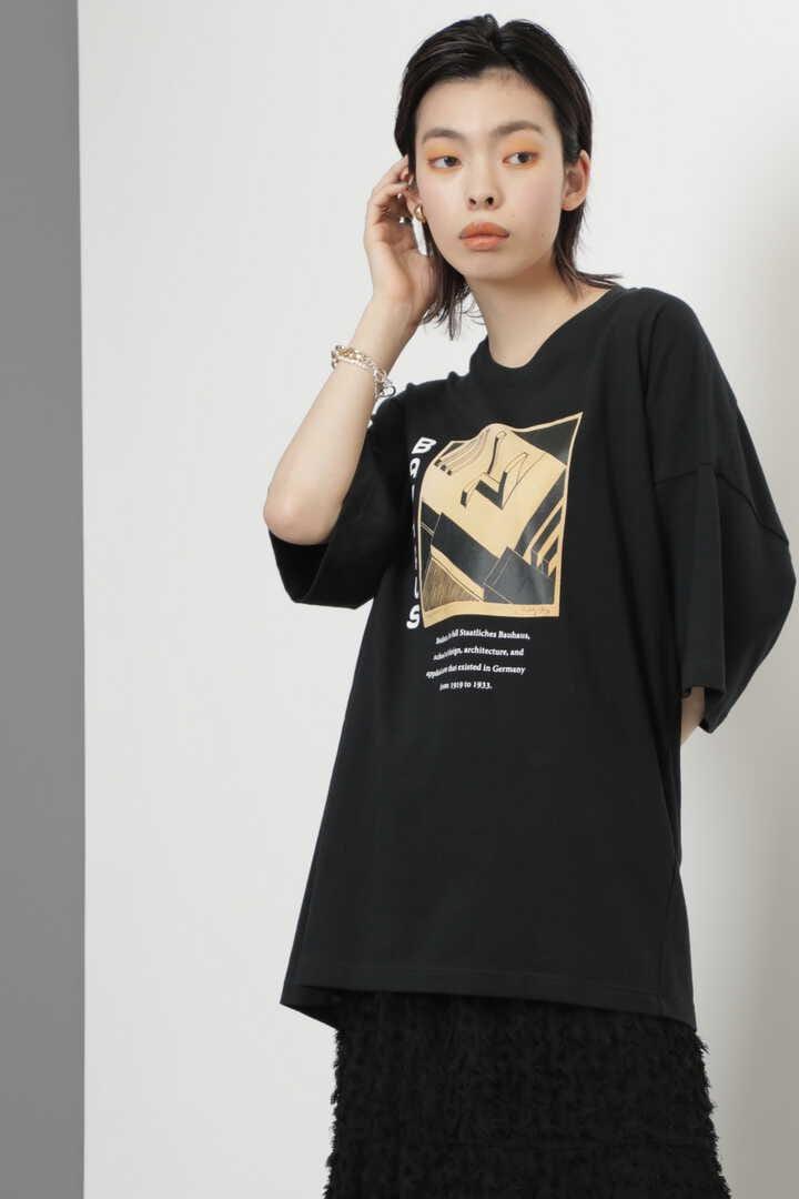BAUHAUSアートプリントTシャツ