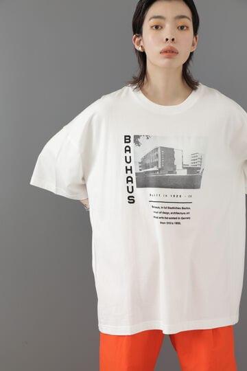 【先行予約 7月中旬-7月下旬入荷予定】BAUHAUSアートプリントTシャツ