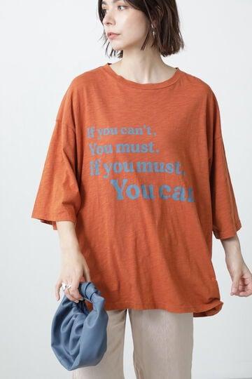 ビッグシルエットスラブTシャツ