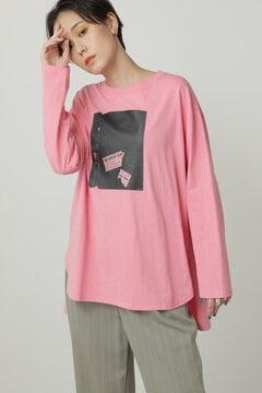 【先行予約 11月上旬-11月中旬入荷予定】Paul RandグラフィックロングTシャツ