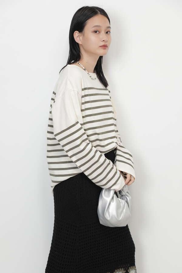 ナバルボーダーロングTシャツ