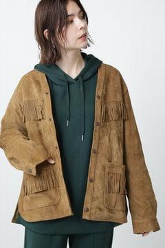 フリンジスエードジャケット